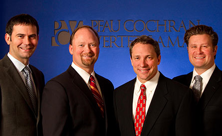 The attorneys at PCVA are capable of handling large multi-plaintiff cases and class action cases.
